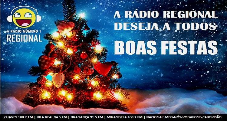 RÁDIO REGIONAL - BOAS FESTAS