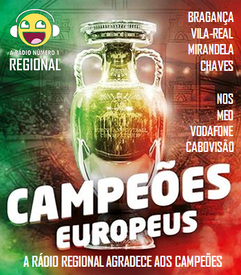 REGIONAL AGRADECE AOS CAMPEOES