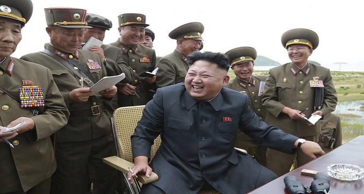 MAIS UM TESTE DE ... KIM JONG-UN