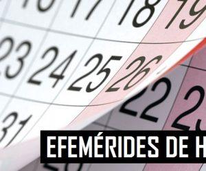 EFEMÉRIDES - A HISTÓRIA DESTE DIA