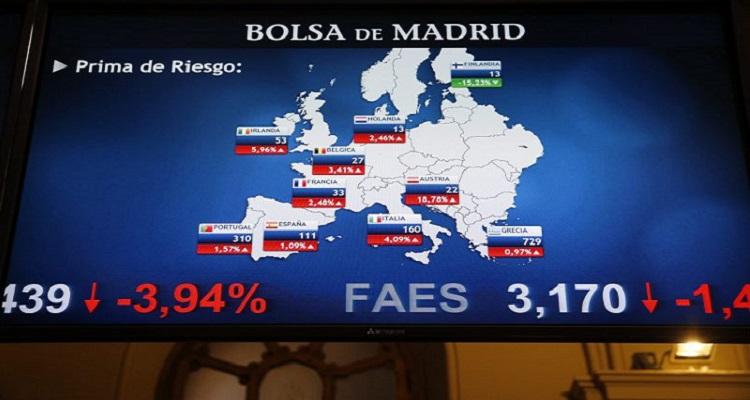EUA: BOLSAS EUROPEIAS AFUNDAM