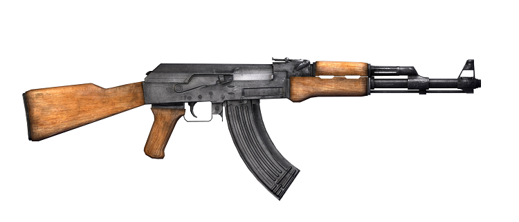 "ARMA AK-47   RONALDO JÁ TERÁ ESTADO NA ""MIRA"""