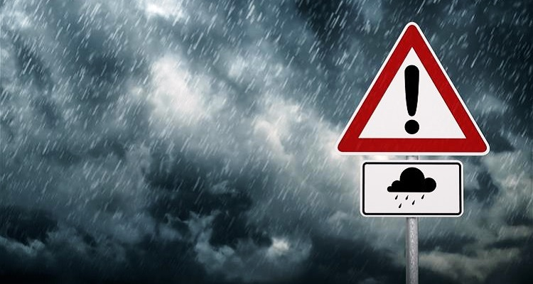 Dezasseis distritos do país sob aviso amarelo devido à chuva vento forte