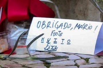 MÁRIO SOARES: MILHARES NA DESPEDIDA