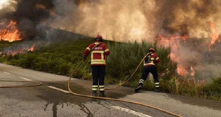 Chamas obrigam à retirada de 95 pessoas na Covilhã — Proteção Civil