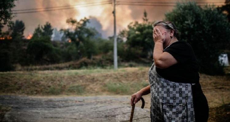 23 feridos e plano de emergência activado em Coimbra — Incêndios