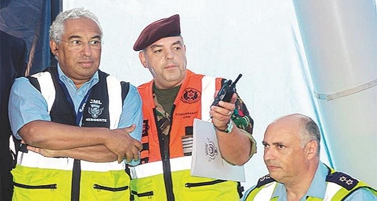 Cursos de chefes da Proteção Civil passados a pente fino
