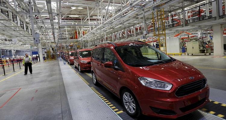 Produção automóvel dispara 75% em outubro graças à Autoeuropa