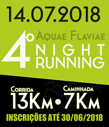 AQUAE FLAVIAE NIGHT RUNNING
