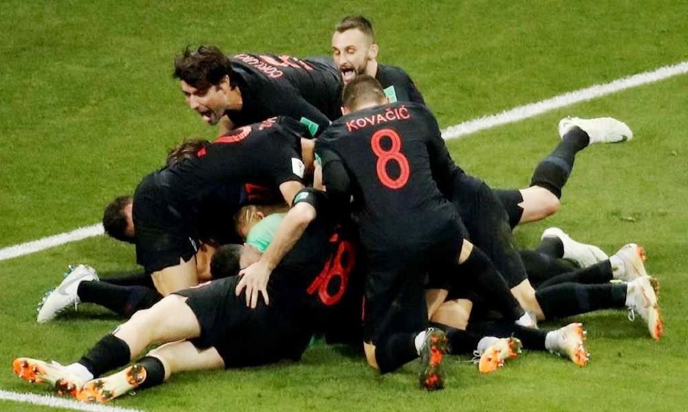Resultado de imagem para Croácia na final do Mundial ao vencer a Inglaterra no prolongamento