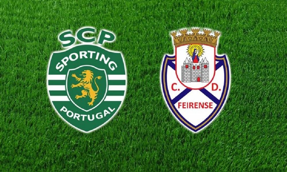 Sporting Feirense: FUTEBOL DIRETO: SPORTING Vs FEIRENSE