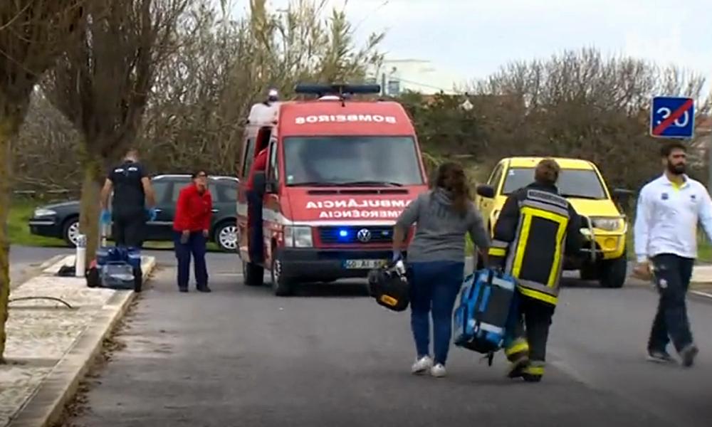 Peniche: vários feridos graves em explosão numa residência de estudantes. Duas das vítimas foram transportadas de helicóptero para os Hospitais Universitários de Coimbra